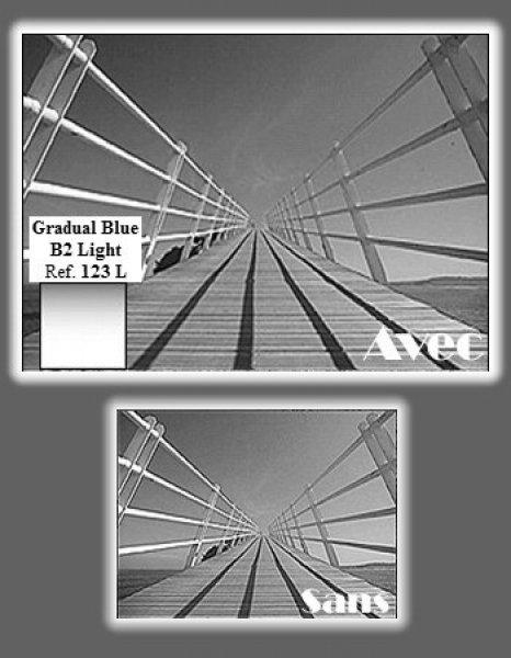 image Cokin Filtre Z123L Bleu B2 Light